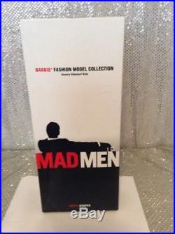 Betty Draper Mad Men Silkstone Barbie Doll Fashion Model 2010 Gold Label T2153