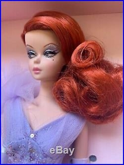 Bfmc Lavender Luxe Silkstone Barbie Doll Gold Label Red Head