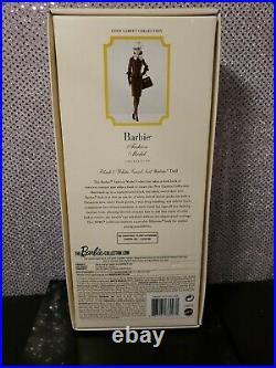 Black & White Tweed Suit Silkstone 2016 Gold Label Barbie Doll Mattel Dwf54 Nrfb