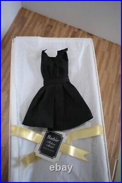 Blonde Classic Black Dress Barbie