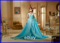 Blue Chiffon Ball Gown Silkstone Barbie DYX74 2017