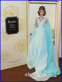 Blue Chiffon Ball Gown Silkstone Barbie Doll #DYX74 NRFB Gold Label