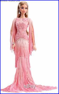 Blush Fringed Gown Barbie Doll 2017 Platinum Edition Limited to 1,000