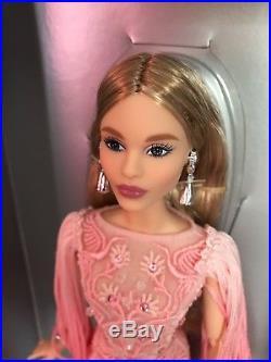 Blush Fringed Gown Barbie Doll Platinum Label