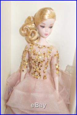 Blush & Gold Cocktail Dress Barbie- 2017-still- In Original- Tissue Mint-dwf55