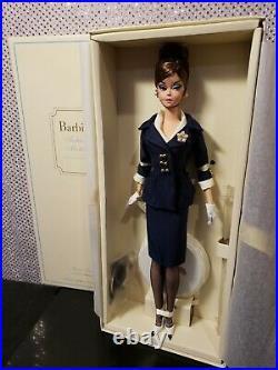 Boater Ensemble Silkstone Barbie Doll Gold Label Mattel X8265 Nrfb