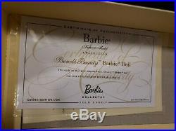 Boucle Beauty Silkstone Barbie Doll 2014 Gold Label Mattel Cgt25 Nrfb