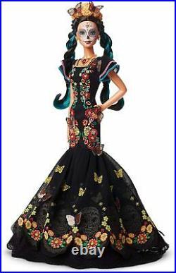 Brand New Barbie Dia De Los Muertos Day of The Dead Doll Mattel 2019