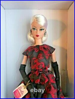 Breathtaking Elegant Rose Cocktail Dress Silkstone Barbie Nrfb/BRAND NEW