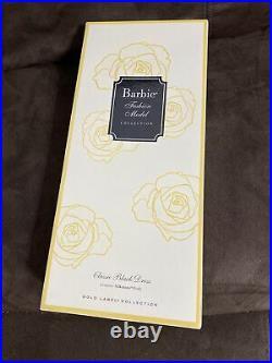 CLASSIC BLACK DRESS SILKSTONE BARBIE DOLL 2015 GOLD LABEL MATTEL #DKN07 NRFBs13