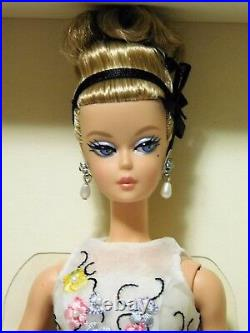 CLASSIC COCKTAIL DRESS 2016 SILKSTONE Barbie Gold Label LE BFMC Doll DGW56 NRFB