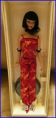 Chinoiserie Red Midnight Silkstone Barbie -NRFB BFC Exclusive Rare Mint