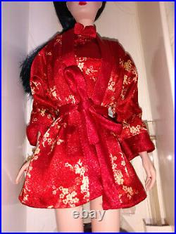 Chinoiserie Red Moon Silkstone Doll