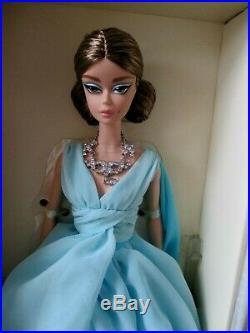 Classic Black Dress & Blue Chiffon Ball Gown Silkstone Barbies NRFB Mint