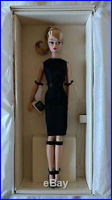 Classic Black Dress Silkstone Barbie NRFB Portuguese Doll Convention 2016