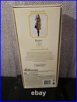 Classic Camel Coat Silkstone Barbie Doll 2015 Gold Label Mattel Dgw54 Nrfb