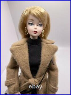 Classic Camel Coat Silkstone Barbie Gold Label