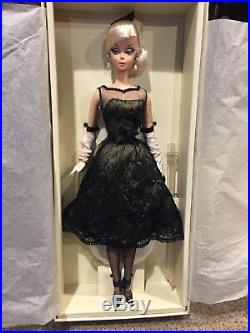 Cocktail Dress Fashion Model Collection Silkstone Barbie Doll Brand New In Box