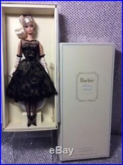 Cocktail Dress Silkstone Barbie Doll 2012 Fashion Model X8253 Gold Label Nrfb