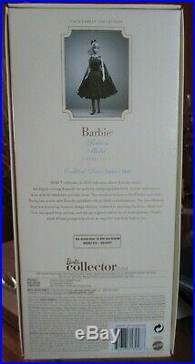 Cocktail Dress Silkstone Barbie Nrfb Gold Label Mattel X8253