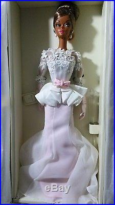 Collectible Barbie Dollsilkstone Nrfb Evening Gown Aa 2011 Excel. Box