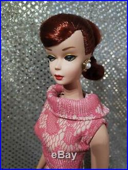 Custom Vintage Swirl Ponytail Reroot Silkstone Ooak One Of A Kind Barbie Doll