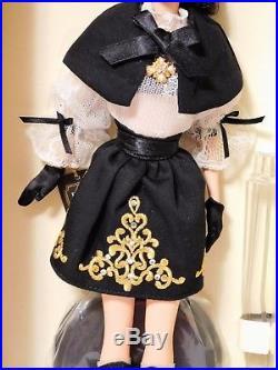DULCISSIMA 2014 SILKSTONE Barbie Gold Label LE 8700 BFMC Doll BCP82 NRFB