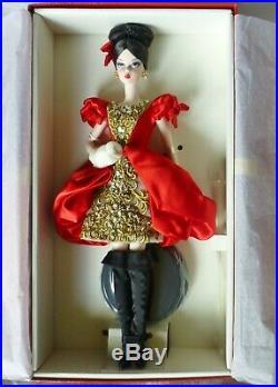 Darya Silkstone Russia Barbie T7675 Fashion Model Collection 2010 Nrfb