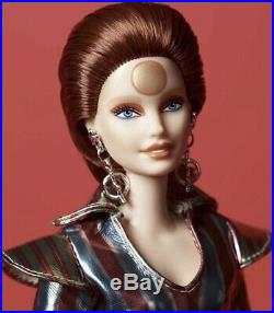 David Bowie Barbie Doll New 2019 Preorder July Matell Ziggy Stardust Gold Label