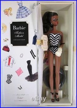 Debut 1959 Silkstone African American Barbie Doll Barbie Fashion Model Collec