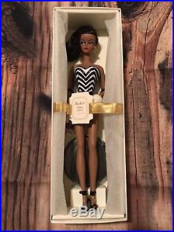 Debut Silkstone Barbie 2009 BMFC Gold Label (N5007) Black\AA New NRFB