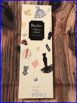 Debut Silkstone Barbie 2009 BMFC Gold Label (N5007) Black\AA New NRFB