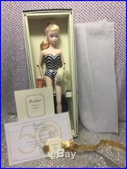 Debut Silkstone Barbie Doll 2008 Gold Label N5006 Mint Nrfb