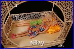 Doll Furniture Moon door Bed Kit no Painting16 scale Silkstone Barbie