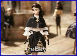 Dulcissima Silkstone Barbie Doll 2013 Gold Label Mattel Bcp82 Mint In Tissue