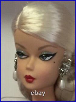 ELEGANT ROSE COCKTAIL DRESS 2018 SILKSTONE Barbie Gold Label BFMC FJH77 NRFB