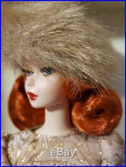 Ekaterina Silkstone Barbie Doll 2010 Gold Label Mattel T7673 Nrfb