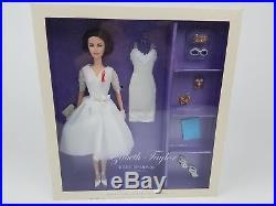 Elizabeth Taylor White Diamonds Barbie Silkstone 2012 Gold Label W3471 NRFB