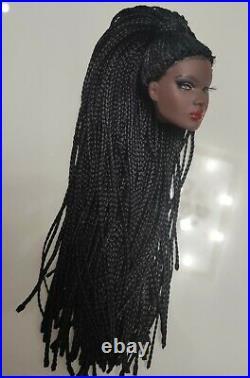 Fashion OOAK Nadja Doll Head FR Royalty Perfect Barbie Silkstone