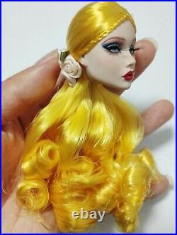 Fashion OOAK Poppy Parker Head FR Royalty Barbie Silkstone