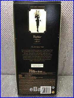 Fiorella Silkstone Barbie Doll 2013 Gold Label Italian Collection Bcp81 Nrfb