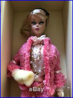 Free Shipping! Preferably Pink Barbie Silkstone, Fashion Model By Robert Best