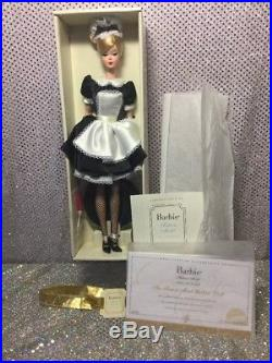 French Maid Silkstone Barbie Doll 2005 Gold Label J0966 Mint Nrfb