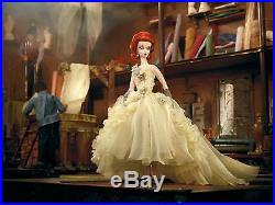GALA GOWN 2012 BFMC SILKSTONE DOLL Gold Label 6500 (REDHEAD) Barbie W3496 NRFB