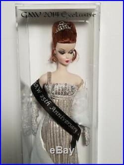 GAW Convention Doll 2014 Exclusive 25th Silver Celebration Silk Stone Mint NRFB