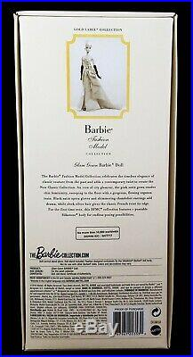 GLAM GOWN BARBIE Doll Silkstone Posable Barbie Fashion Model Collection NRFB