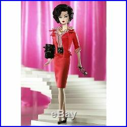 Gal On The Go Silkstone Barbie Doll Gold Label Mattel N5021 Mint In Tissue
