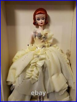 Gala Gown Silkstone Barbie Doll 2011 Gold Label Mattel W3496 Nrfb