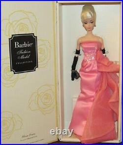 Glam Gown 2016 Silkstone Fashion Model Barbie Doll #DGW58 NRFB Gold Label