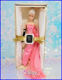 Glam Gown Barbie Doll Gold Label Collection Silkstone Body 2016 Mattel NRFB M112